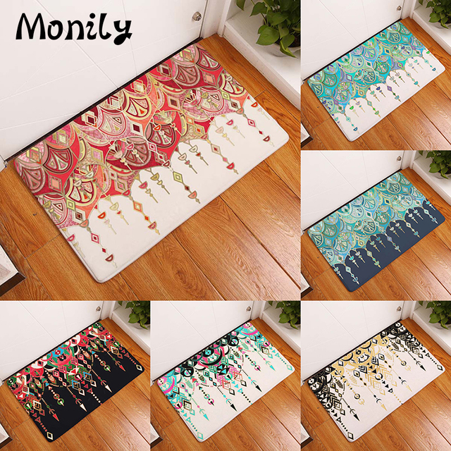 Monily Anti-Slip Waterproof Door Mat Nordic Geometric Painting Carpets Bedroom Rugs Decorative Stair Mats & Aliexpress.com - Online Shopping for Electronics Fashion Home ...
