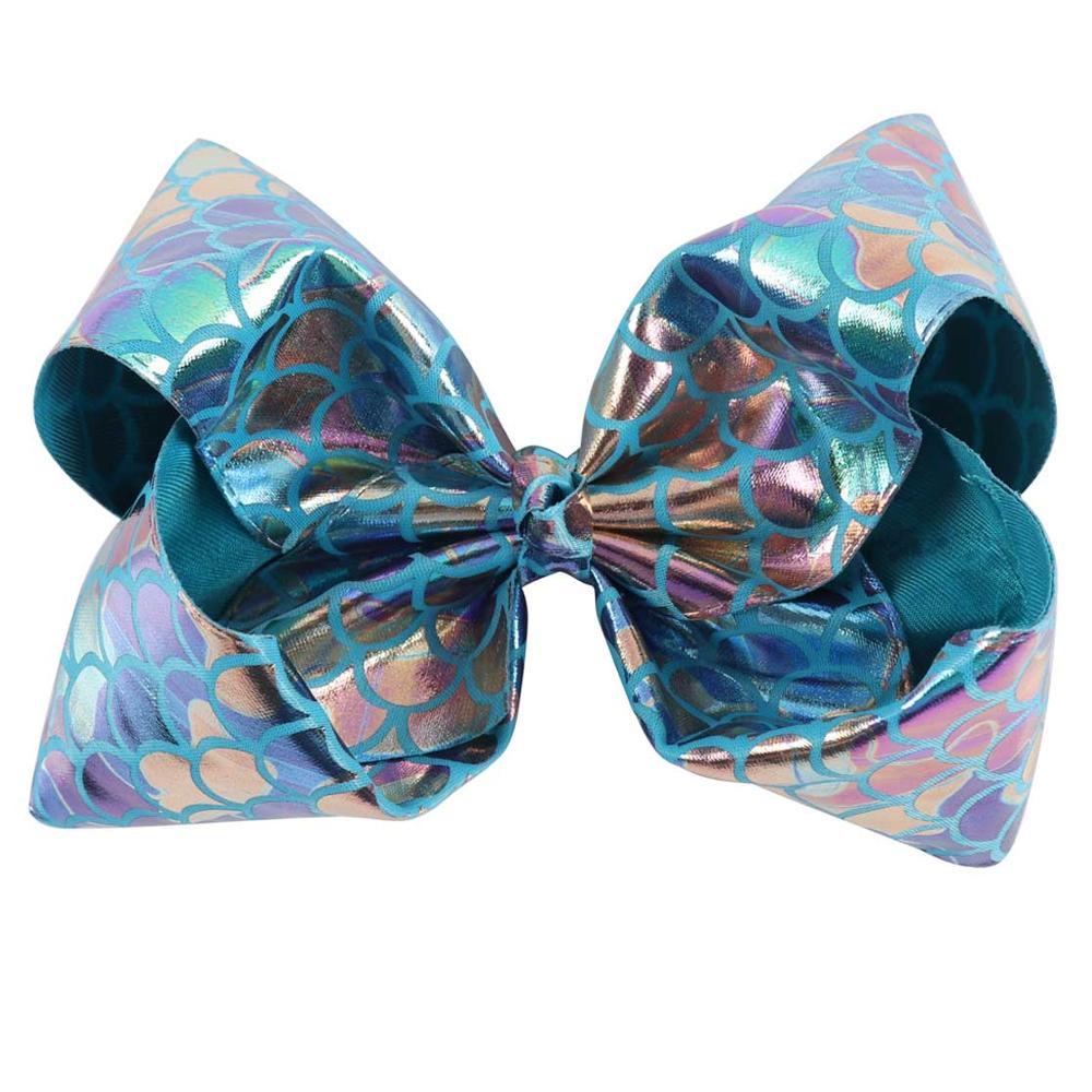 girls hair bows clip Headband Large Tartan