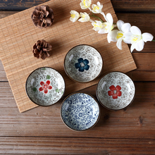 "Dishes and Plates Sets 3.8"" Bone China Ceramic Plates Salad Sushi Plates Seasoning Soy Sauce Dishes Kitchen Utensils For Dish"
