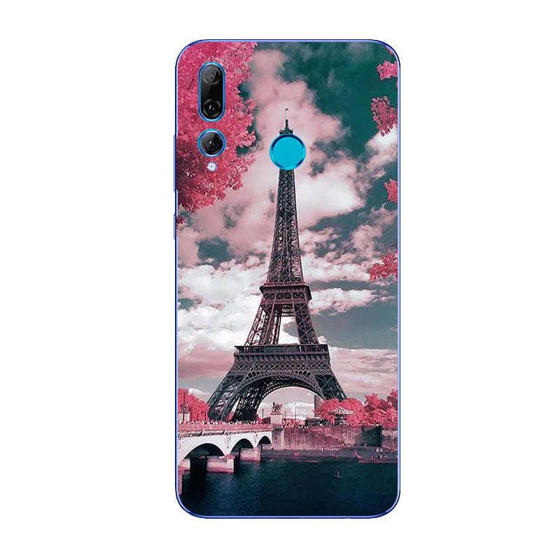 """Para Huawei P Smart Plus 2019 funda de silicona de impresión suave TPU funda de teléfono para Coque Huawei P Smart + más de 2019 de 6,21 """"Hoesje"""