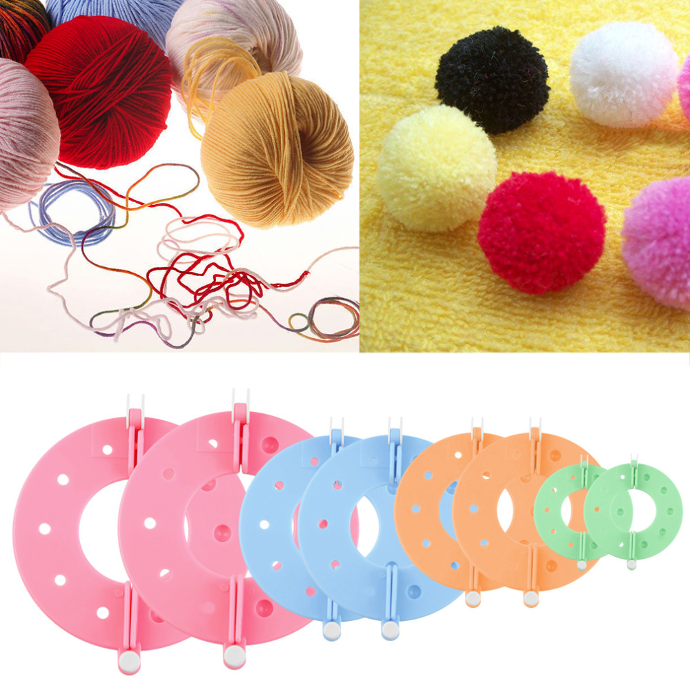 Makes 3 Different Sizes Pom Pom Maker By Essential