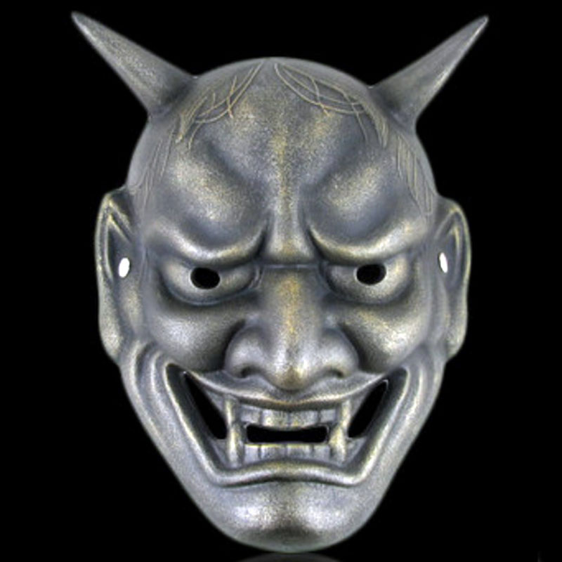 how to draw an oni mask
