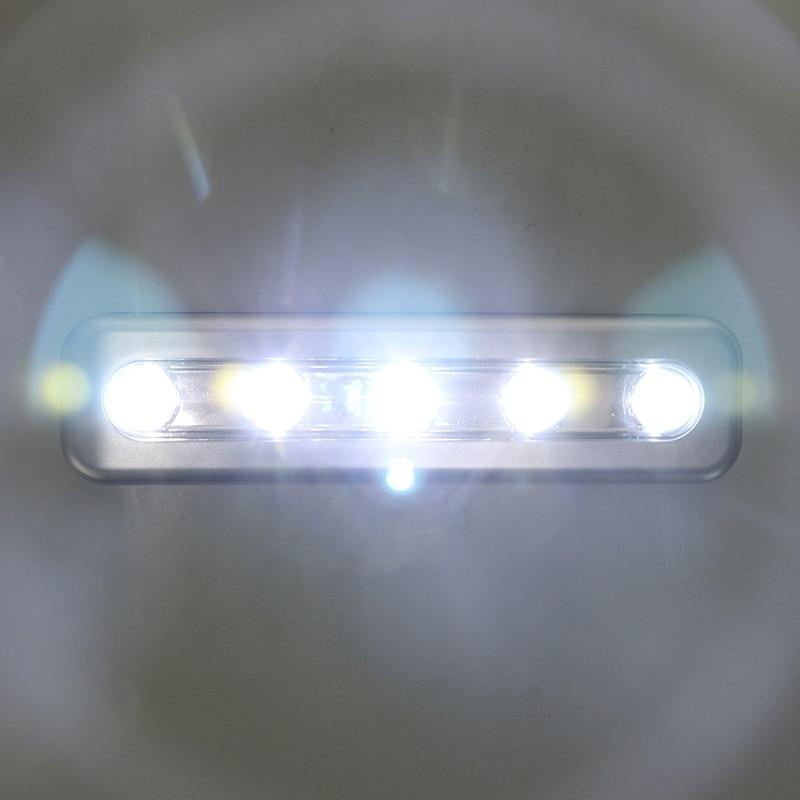 LemonBest Mini Wireless Wall Light Closet Lamp 5 LED Night
