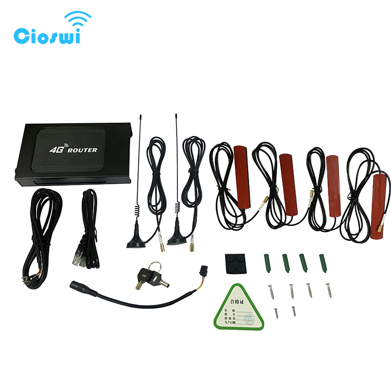 Image 5 - vehicle lte router dual band openwrt bus 12V 3g/4g wireless wifi router sim card slot for car 1200Mbps external 5dbi antennas-in Wireless Routers from Computer & Office