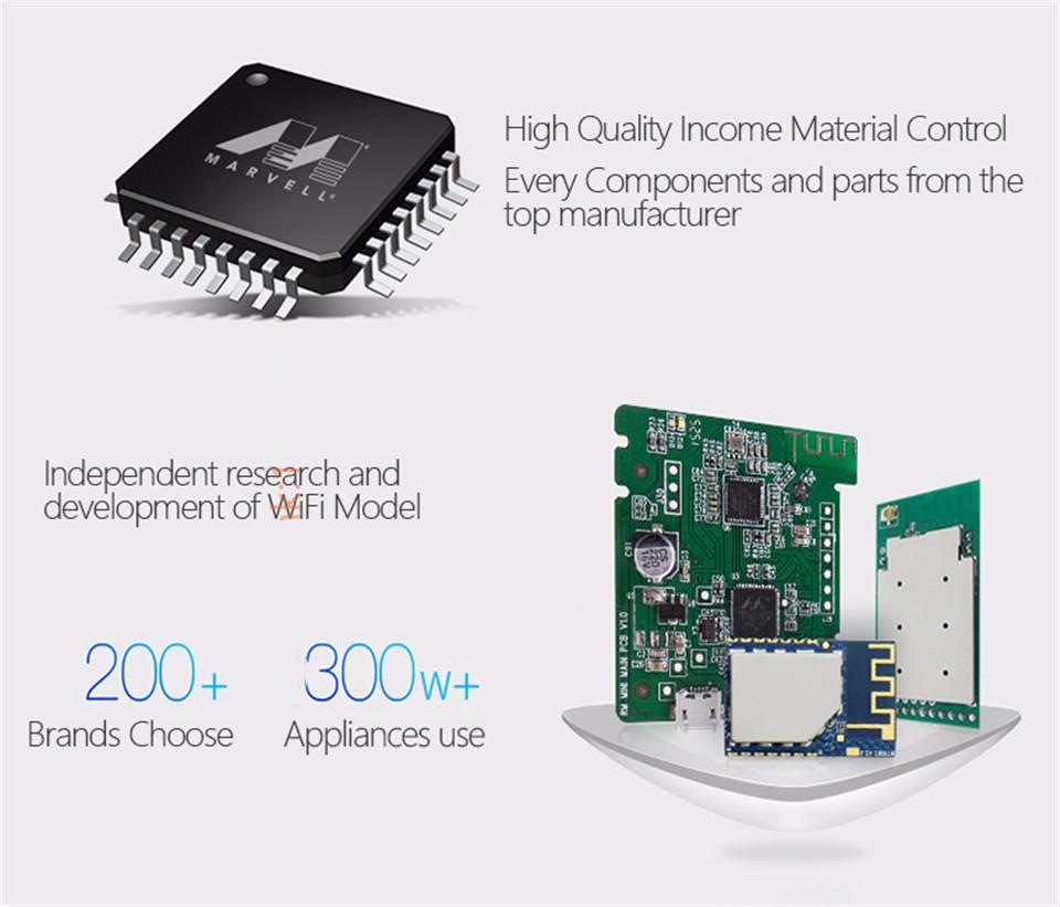 Broadlink RM3 RM Pro/RM mini3 Automatyki Inteligentnego Domu Uniwersalny Inteligentny Pilot WIFI + IR + RF Przełącznik dla iOS Android 30
