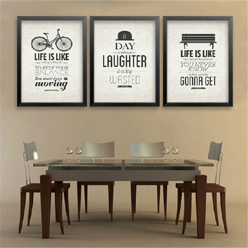 Creative Office Posters Painting Motivational Classroom