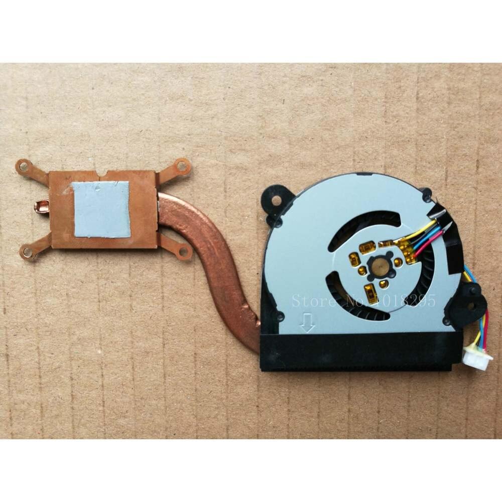 Novo ventilador do portátil da cpu para asus x201e x202e s200e q200e x202ep 200 x202ev