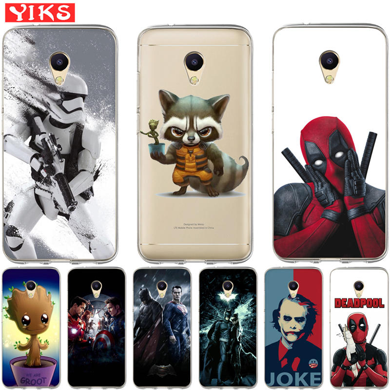 Raccoon Deadpool Joker Cases For <font><b>Meizu</b></font> M5C <font><b>M3s</b></font> M5s M3 M5 M6 Note Soft <font><b>Cover</b></font> <font><b>Back</b></font> Cases For Coque <font><b>Meizu</b></font> U10 U20 Pro 6 Case Etui image