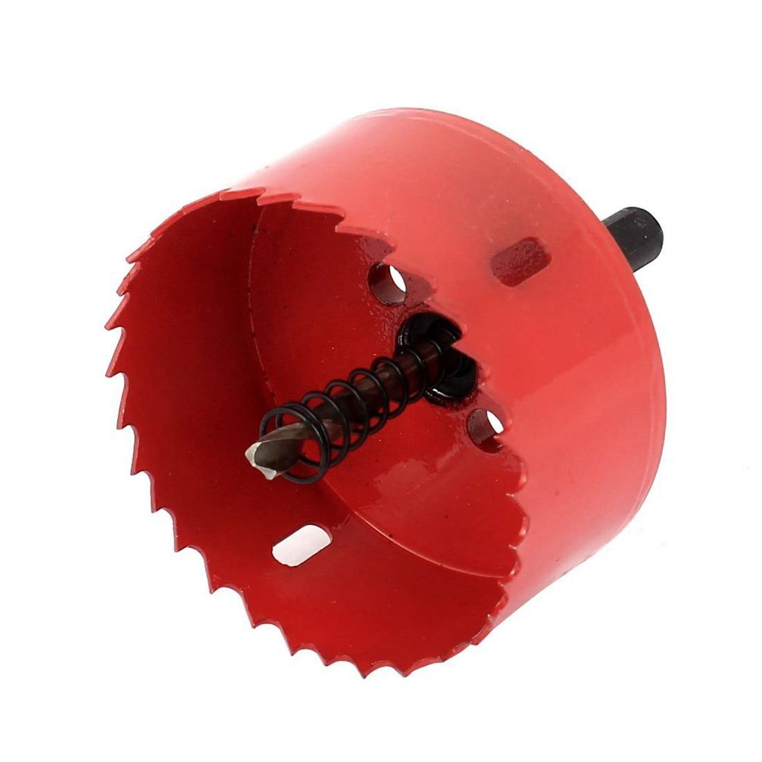 Wood, iron, 75 mm diamond tooth bimetallic hole cutter drill \ red bosch 2608597205 wood drill 24x140x210 mm