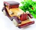 BOHS Wooden Vintage Classic Bubble Car Model Building 13.5cm(L)
