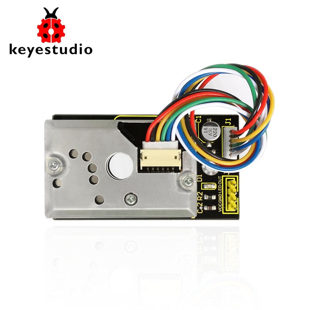 NEW! Keyestudio GP2Y1014AU PM2.5 Detection Dust Sensor Module  For Arduino For Air Condition