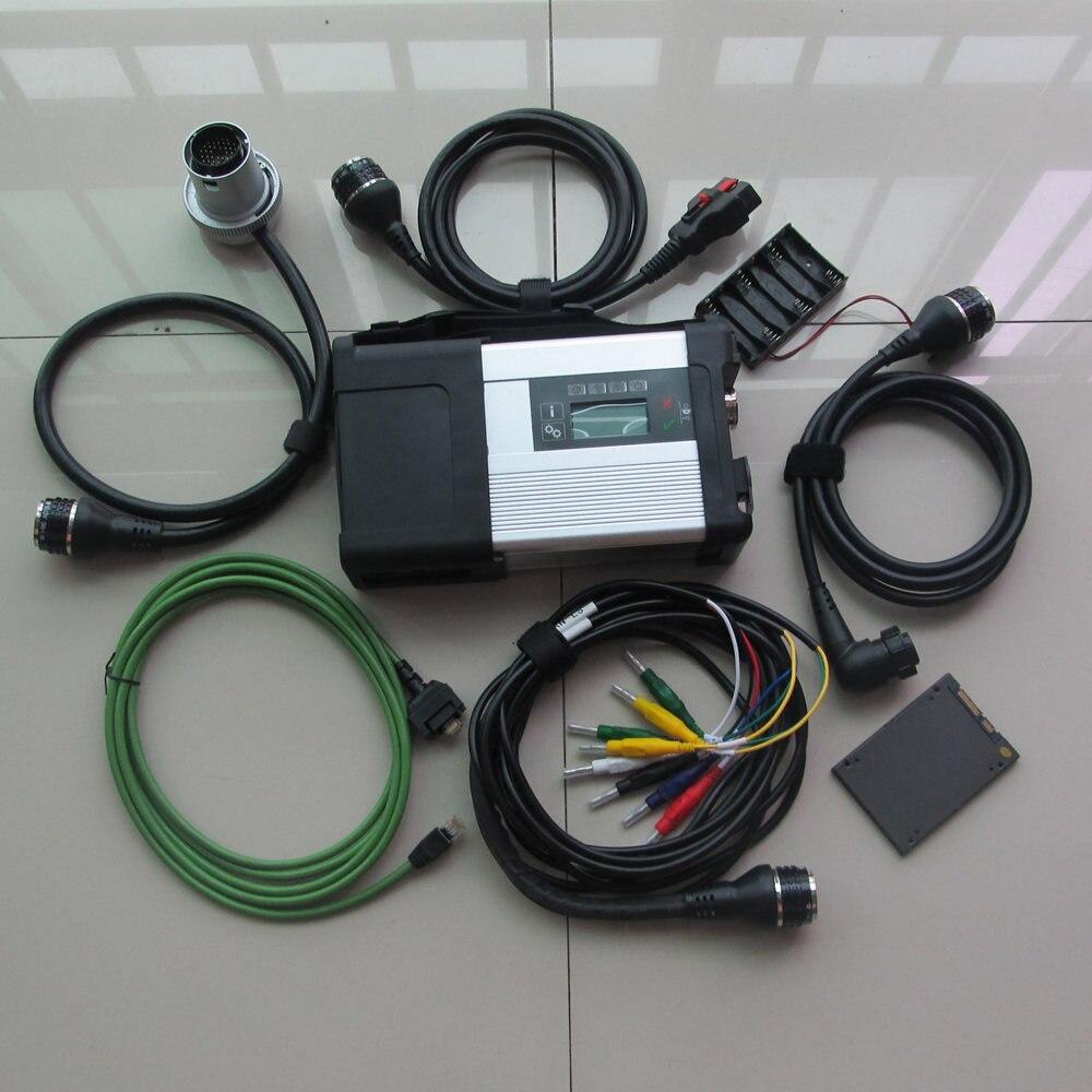 2019.03 v outil De Diagnostic MB Star C5 SD Connect Plus SSD Diagnostic Logiciel super pour Mb Étoiles C5 Soutien MB voitures et Camions