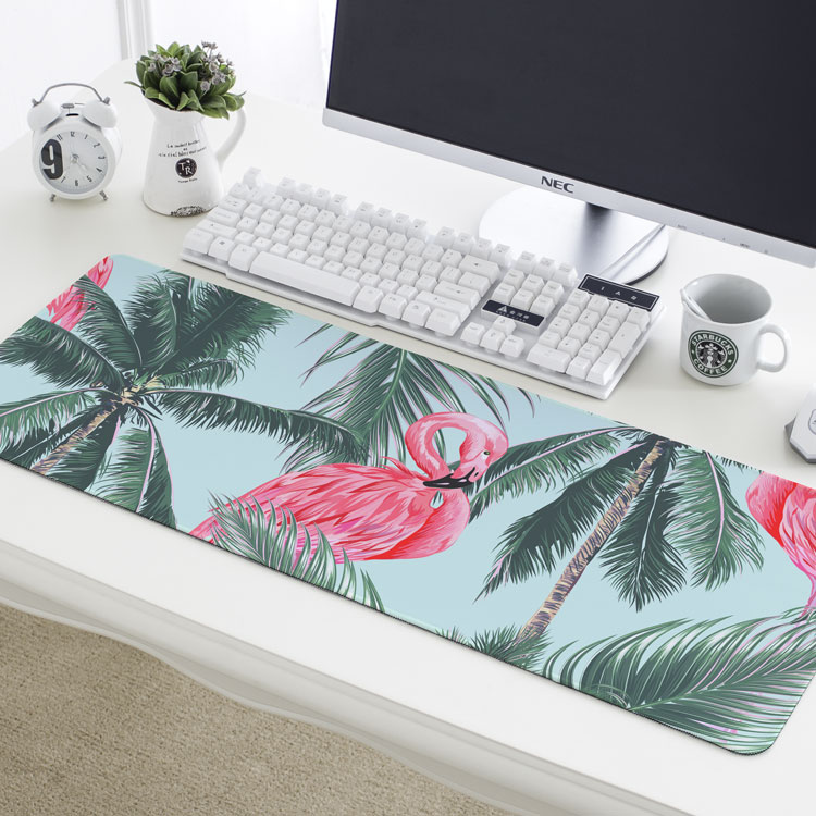 Europe Style Flamingo Pattern Waterproof Table Mat Office Keyboard Non Slip  Tablecloth Fashion Ideas Table Cover Desk Mat In Tablecloths From Home U0026  Garden ...