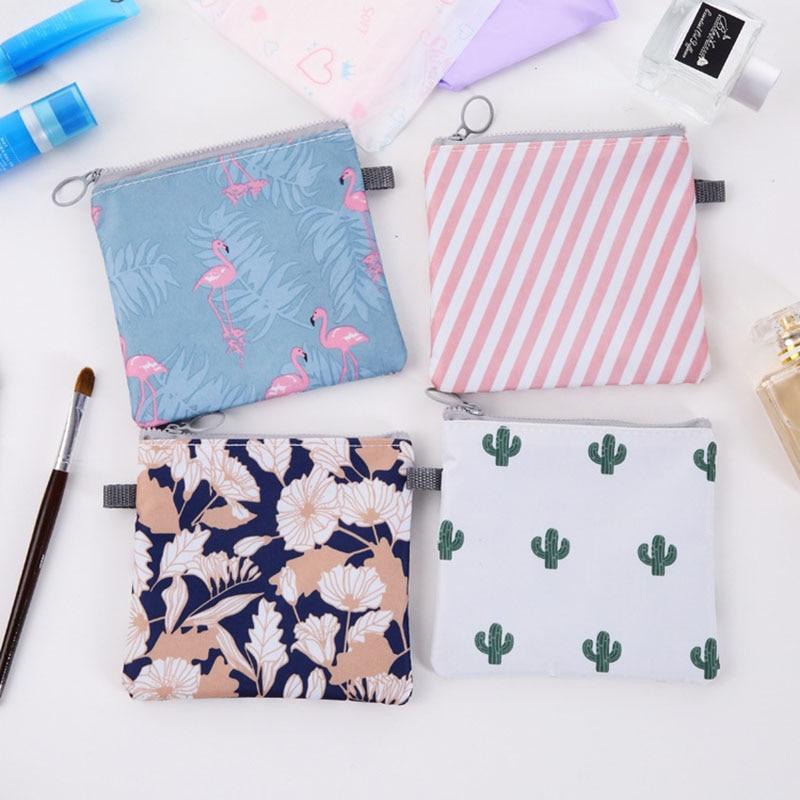 Women Cartoon Flamingo Cosmetic Bag Travel Makeup Case Zipper Make Up Bath Organizer Storage Pouch Toiletry Wash Beaut Kit