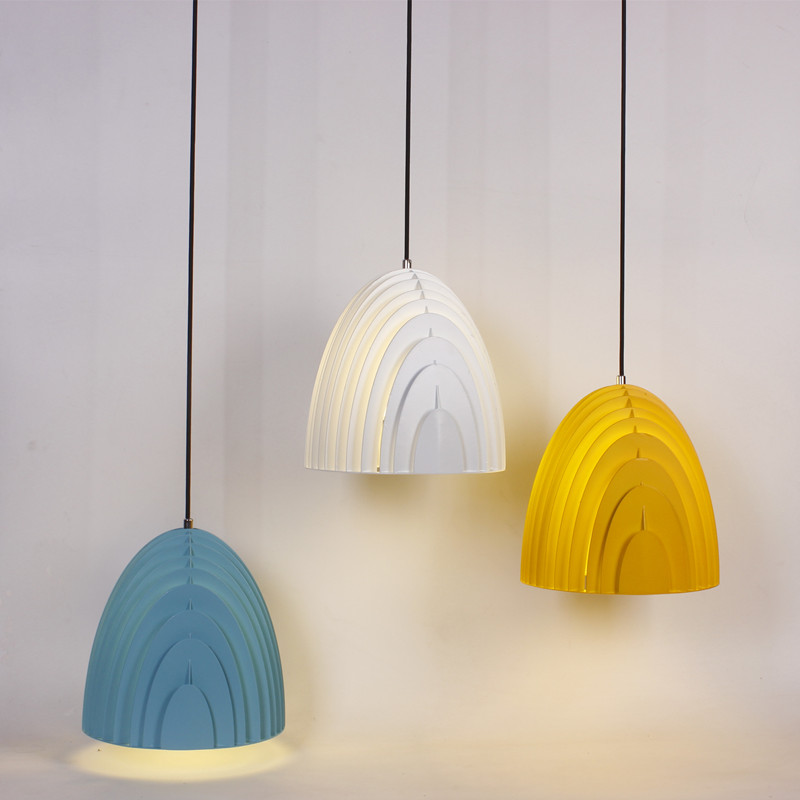 IWHD Colorful Modern LED Pendant Lights Nordic Droplight Creative Hanglamp LED Pendant Lamp Fixtures For Home Lighting Cafe Bar colorful iron geometry pendant light nordic modern creative hanglamp fixtures for home lighting bar cafe lamparas colgantes
