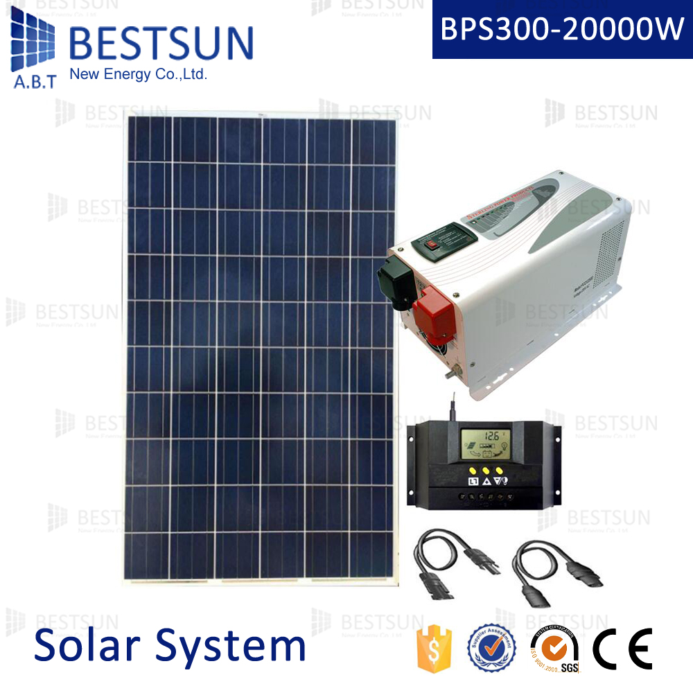 1kw Solar Panel System 1kva Home 1000w