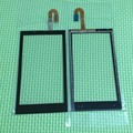 100% Prueba de Trabajo Negro NUEVA Digitalizador de Pantalla Táctil Para HTC Desire 610 D610 Teléfono Sensor de Cristal de Reemplazo Del Panel Frontal Con Logo