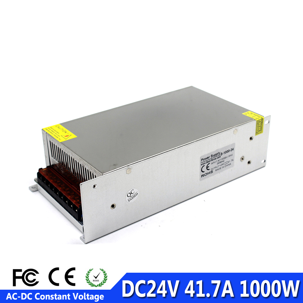 24V 40A 1000W Switch Power Supply Driver AC110//220V Regulated Switching Power