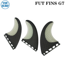Surfboard Fins Future G7 Fin Honeycomb Black and White color surfing fin