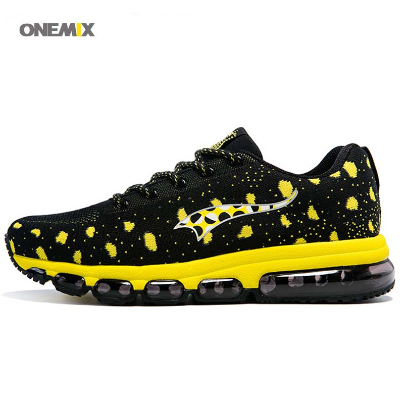 ONEMIX free 2017 Weaving flyweave Breathable sport Run sneaker Men's Women's athletic trainer Running air cushion shoes 1183 kettler run air