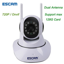 ESCAM HD 720P Video Surveillance IP Camera Wireless Video Camera Mini P2P Baby Monitor CCTV Security WIFI Kamera IR Night Vision