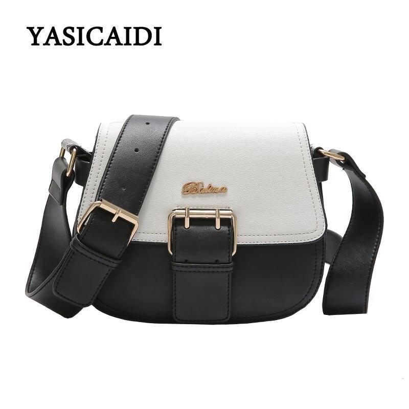 Fashion Women Bag Pu Leather Tassel Shoulder Bag Small Saddle for Girls Female Crossbody Bags Brand  Women Messenger Bags