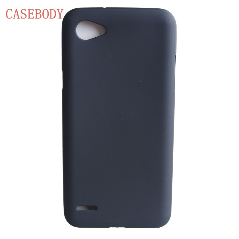 CASEBODY For LG Q6 Case Matte Soft TPU Gel Case For LG Q6 Cover Dual SIM For LG Q6 Cover Mobile Phone Cases Free Shipping Q 6