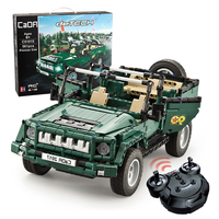 561pcs Military Vehicles Legoed Technic City Building Blocks Bricks WW2 Army Soldier Weapons Parade Jeep Truck RC Car Model Toys