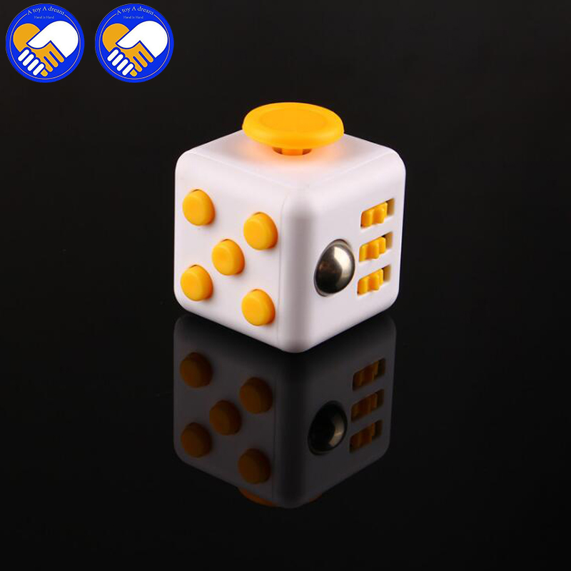 A Toy A Dream Squeeze Fun Stress Reliever Gift Fidgeted Cube Relieves Anxiety and Stress Juguet