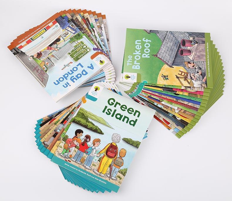1 Juego de 40 libros 7-9 niveles Oxford árbol de Lectura más rico leer fonética inglés historia imagen libro conjunto juguetes educativos - 4