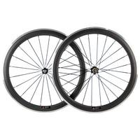 50mm Carbon Wheels Clincher With Alloy Brake Surface R36 Hub Road Bike Carbon Wheelset Aluminum Braking