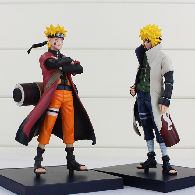 2 Pcs The Konoha's Yellow Collectible Model