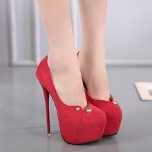 Hot Sales 2017 New Fashion Women's Pumps 2017 Sexy High Heels Round Toe Thin Heels Korean Princess Shoes Seasons Shoes 2 Colour