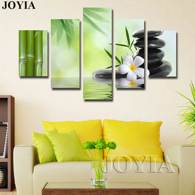 Magnificent 5 Panel Canvas Wall Art Gallery - Wall Art Design ...
