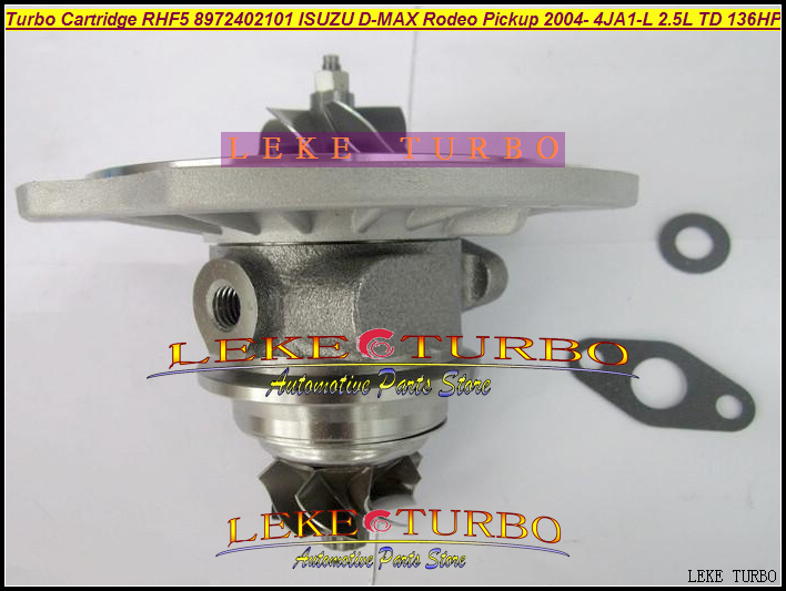 Free Ship Turbo Turbocharger Cartridge CHRA core RHF5 VIDA 8972402101 For ISUZU D-MAX Rodeo Pickup 04- 4JA1-L 4JA1L 4JA1 2.5L TD free ship turbo for isuzu d max rodeo pickup 2004 4ja1 4ja1 l 4ja1l 4ja1t 2 5l rhf5 rhf4h vida va420037 8972402101 turbocharger