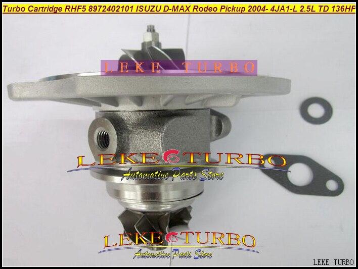 Free Ship Turbo Turbocharger Cartridge CHRA core RHF5 VIDA 8972402101 For ISUZU D MAX Rodeo Pickup 04 4JA1 L 4JA1L 4JA1 2.5L TD