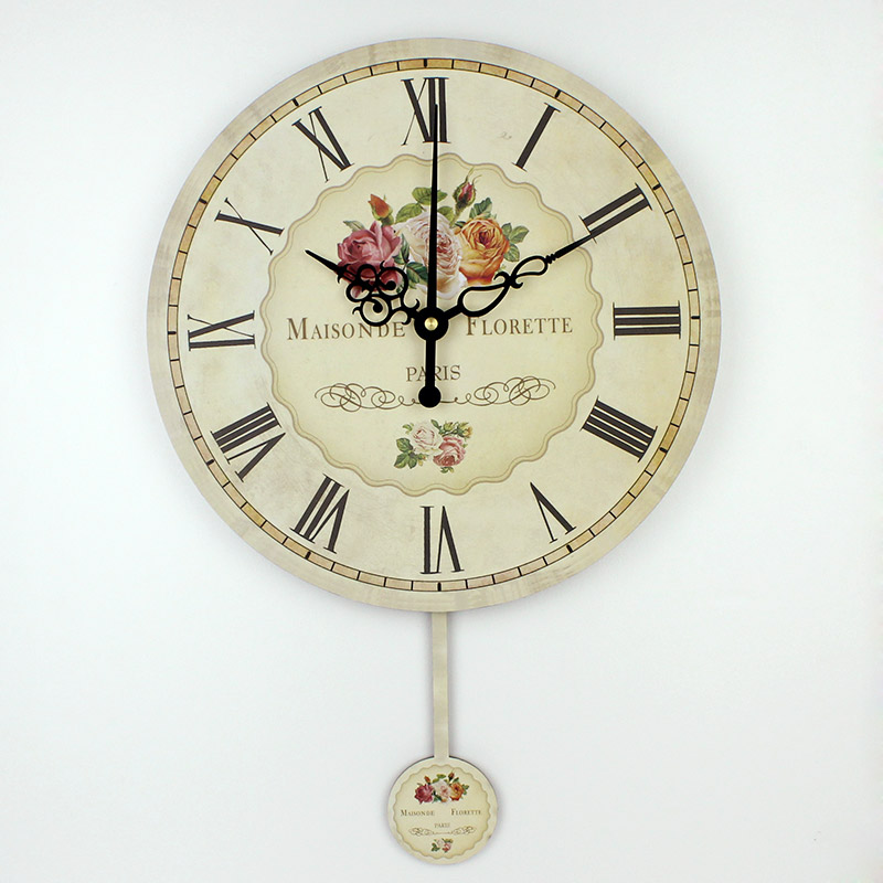 Decorative Wall Clocks For Living Room; Smileydot.us