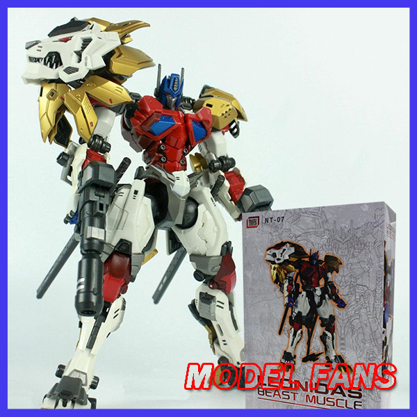 MODEL FANS IN-STOCK NeoArt Toys Leonidas White DX-05 PE Transformation Lio Convoy Leo robot Action Figure