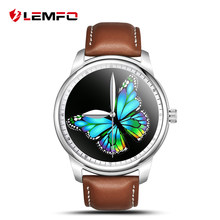 LEMFO LEM1 Smart Watch Pedometer Sycn Phone Call Message Remote Camera Smartwatch for iPhone Samsung HUAWEI IOS Android Phone(China)
