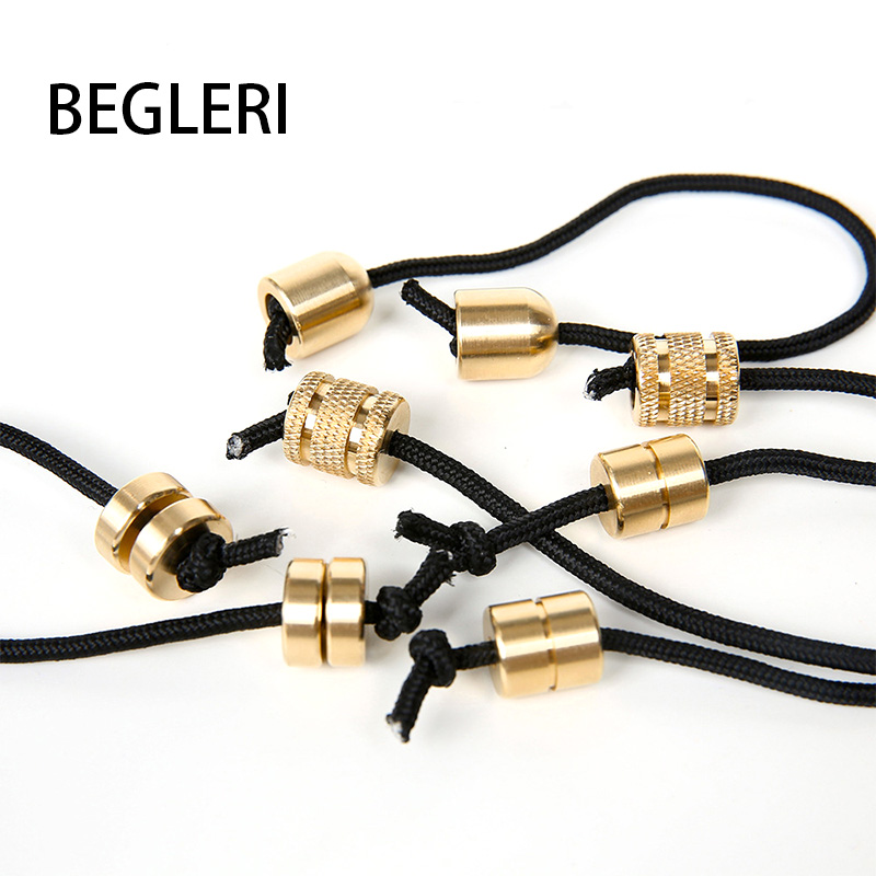 2019 New Begleri Yoyo Fidget Toy Extreme Finger Movement Fingertip Decompression Artifact Copper Two Beads And One Rope Hot Sell