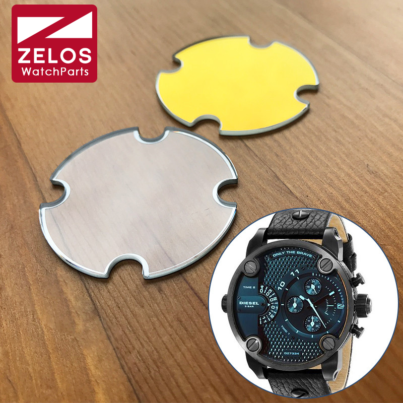 Vidro de Relógio de Cristal para Diesel Mineral Pouco Papai Homem Cronógrafo Relógio