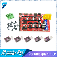 Promotion RAMPS 1 4 Control Board 4 X DRV8825 Stepper Motor Driver Module For 3D Printer