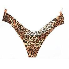 Hot Sale Leopard Sexy Seamless Underwear Women  T-back Panties G String Women's Briefs Calcinha Lingerie Tanga Thong For Women