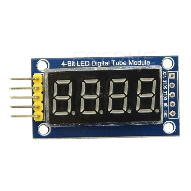 4 Bits Digital Tube LED Display Module Four Serial for 595 Driver Dropship 1