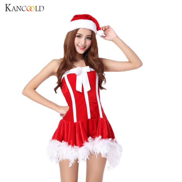 New Women Sexy Christmas Dress Costume Dresses Cosplay Girls Xmas Outfit Fancy Party Mini Drees+  sc 1 st  AliExpress.com & New Women Sexy Christmas Dress Costume Dresses Cosplay Girls Xmas ...