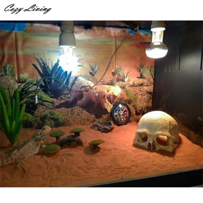 14 11 10cm fish tank aquarium halloween aquarium for Fish tank skull decoration