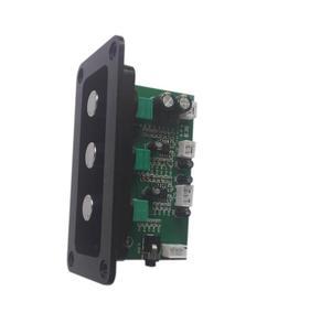 Image 4 - סאב NE5532 2.1 Preamp בקרת עצמת בס טרבל HIIF Loudsperker עם פנל אודיו Lossless מגבר כוח דיגיטלי