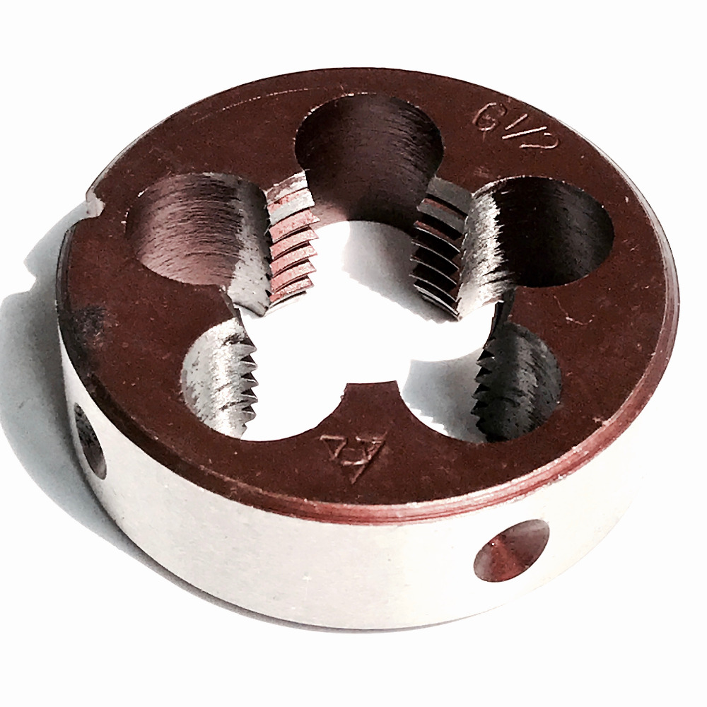 Free shipping 1PC of bsp Die G1/2-14 pipe threading Dies threading Tools Model Engineer Thread Maker for pipe inner threading