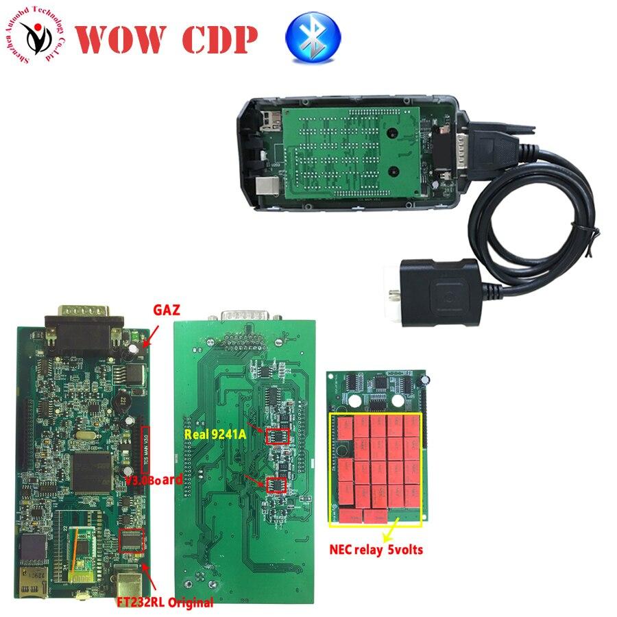 цена на DHL Keygen as gift+Full Set COVER! wurth WOW CDP SNOOPER Bluetooth V5.008 R2+ 5.00.12 Green Board pcb v3.0 NEC Relays VD TCS CDP