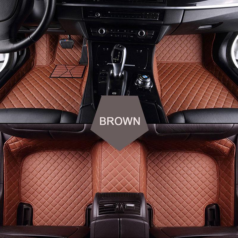 Custom fit car floor mats for Cadillac ATS CTS XT5 XTS SRX SLS Escalade 3D car-styling all weather carpet floor liner